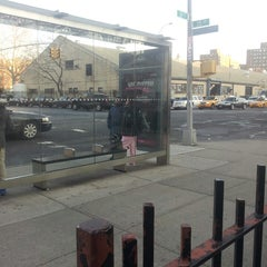 Photo taken at MTA 35th Ave & 21st Street Bus Stop by Michael W. on 3/1/2013