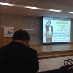 Photo taken at JW 타워 (JW-Group) by Joongmo L. on 12/9/2014