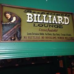 Photo taken at The Billiard Den by Rich H. on 1/26/2014