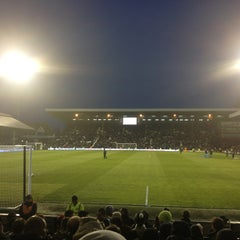 Photo taken at Craven Cottage by Terry T. on 4/1/2013