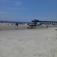 Photo taken at Atlantic ocean Tybee Island by Tina C. on 6/4/2013