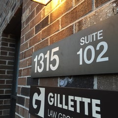 Photo taken at Gillette Law Group, PLLC by Brian G. on 3/24/2016