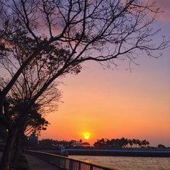 Photo taken at Woodlands Waterfront by Guosheng on 2/1/2013
