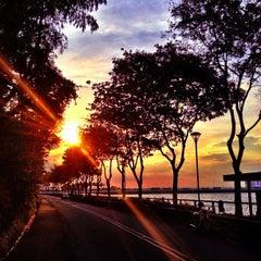 Photo taken at Woodlands Waterfront by Guosheng on 1/25/2013
