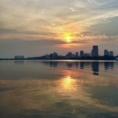 Photo taken at Woodlands Waterfront by Guosheng on 7/29/2013