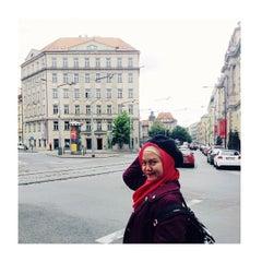 Photo taken at Hostel Jednota by Tara L. on 7/11/2014