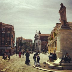Photo taken at Campo San Stefano by Marco S. on 4/6/2013