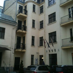 Photo taken at Hotel Edvards Riga by Андревна on 11/2/2012