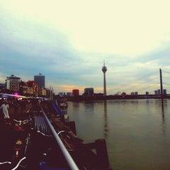 Photo taken at Düsseldorf by Dicle D. on 6/28/2015