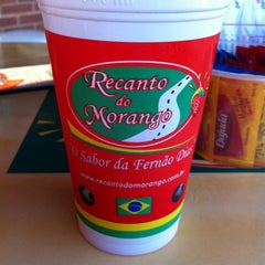 Photo taken at Recanto Do Morango by Eder S. on 11/14/2013