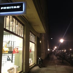 Photo taken at Freitag-Shop by Xavier B. on 1/11/2013