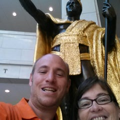 Photo taken at King Kamehameha Statue by Michael M. on 6/15/2013
