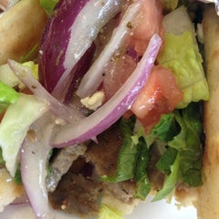 Photo taken at Souvlaki Fast by Carolina A. on 2/25/2013