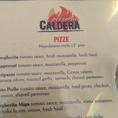 Photo taken at Pizzeria Caldera by Daniel M. on 9/9/2013