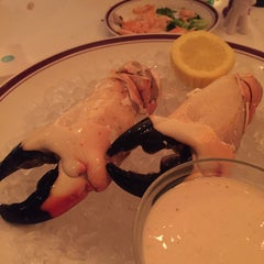 Photo taken at Chops Lobster Bar by Christine K. on 4/26/2015