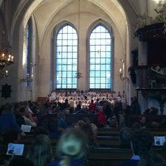 Photo taken at Aegidien Kirche by Jean Pierre H. on 12/24/2012