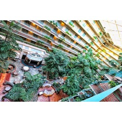 Photo taken at Embassy Suites by Hilton San Francisco Airport Waterfront by Chris A. on 10/27/2012