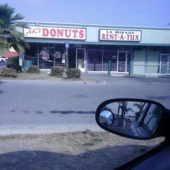 Photo taken at AK's Donuts by Darrell R. on 4/8/2013