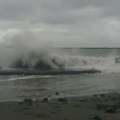 Photo taken at North Jetty by Jessica S. on 12/1/2012