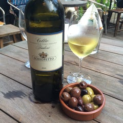 Photo taken at Que Pasa Wine & Tapas by Corinne K. on 4/8/2015