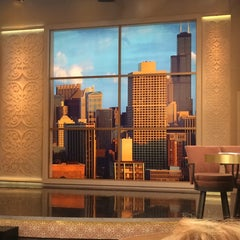 Photo taken at Windy City LIVE @ WLS ABC7 Studios by Rachel J. on 6/9/2014