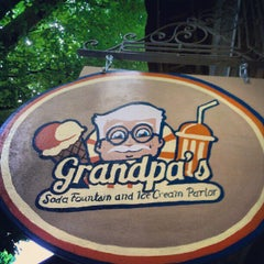 Photo taken at Grandpa's Ice Cream Parlor by John C. on 9/9/2012