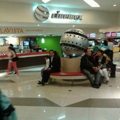 Photo taken at Cinemex by Packirri A. on 9/21/2012