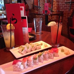 Photo taken at RA Sushi by Eli J. on 9/21/2012