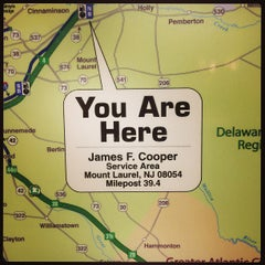 Photo taken at J. Fenimore Cooper Service Area by Arjay on 3/3/2013