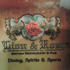 Photo taken at The Lion & Rose British Restaurant & Pub by Stephen H. on 10/22/2012
