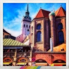 Photo taken at München by Alexander B. on 3/20/2013
