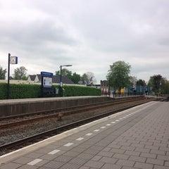 Photo taken at Station Zwaagwesteinde by Ludwig K. on 5/18/2013