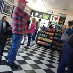 Photo taken at Mr. Pickles Sandwich Shop by Jessica L. on 2/11/2013