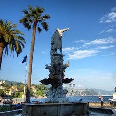 Photo taken at Lungomare di Santa Margherita Ligure by Antonio P. on 6/6/2013