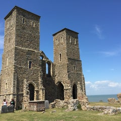 Photo taken at Reculver Towers and Roman Fort by Mark M. on 6/27/2015