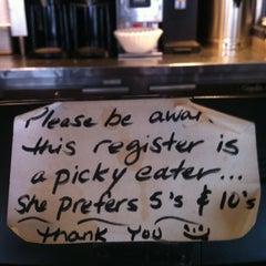 Photo taken at Café 474 by Tiffany P. on 2/20/2013