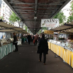 Photo taken at Marché de Grenelle by Antonio F. on 5/19/2013