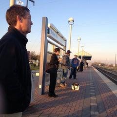 Photo taken at Richland Hills Station (TRE) by Jarrett C. on 3/20/2013