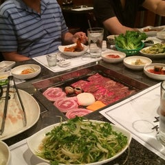 Photo taken at Cho Sun Gal Bi Korean BBQ & Sushi Bar by MJ K. on 7/20/2014