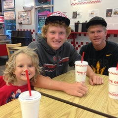 Photo taken at Five Guys by Mark K. on 7/29/2013