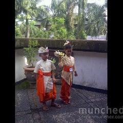 Photo taken at Panggung Terbuka Balai Budaya Gianyar by Made P. on 12/26/2012