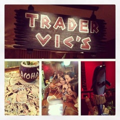Photo taken at Trader Vic's by Mary Elizabeth on 6/4/2013
