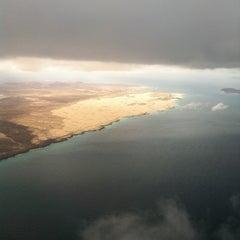 Photo taken at Aeropuerto de Fuerteventura (FUE) by Maxi A. on 3/2/2013
