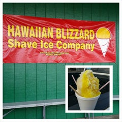 Photo taken at Hawaiian Blizzard Shave Ice Co by Rob G. on 12/2/2014