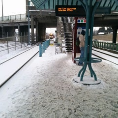 Photo taken at TriMet NE 60th Ave MAX Station by Ted T. on 2/9/2014