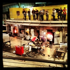 Photo taken at The Hot Shop at the Museum Of Glass by Julia R. on 9/29/2013