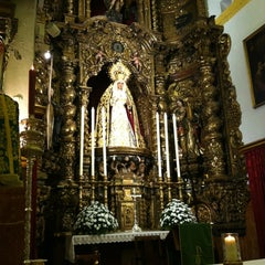 Photo taken at Parroquia de la O by Patxi B. on 10/12/2012