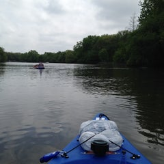 Photo taken at Fox River by Steven P. on 5/16/2015