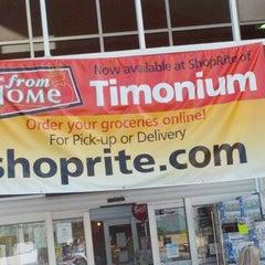 Photo taken at ShopRite by Daniel X. on 9/15/2012