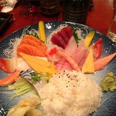 Photo taken at Toyama Sushi by Maria N. on 1/17/2013